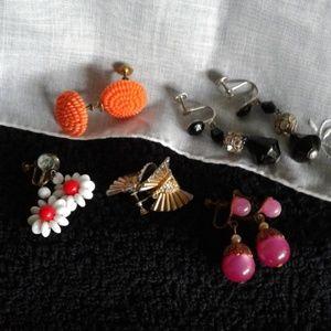 Jewelry - *Vintage* Earrings (screw back) $7 a pair